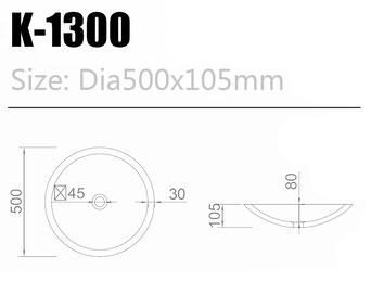 Waschtisch K-1300