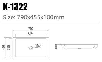 Waschtisch K-1322
