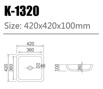Waschtisch K-1320