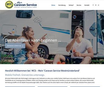 Jimdo Webseite www.caravanservice-laer.de