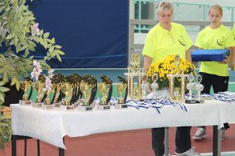 JC Halle als Wettkampfausrichter