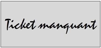 Ticket  Wasquehal-PSG  2015-16