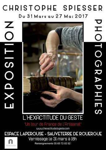 Affiche d'une exposition de Christophe SPIESSER - Photo -