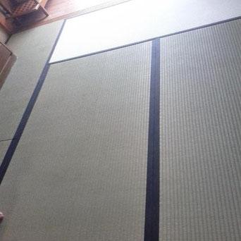 国産畳表 ひのみどり使用 畳の張り替え