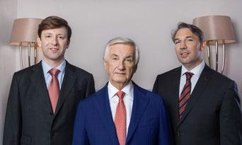 Mag. Philipp Urbas, Dr. Karl Grigkar, Mag. Ender Bozkurt