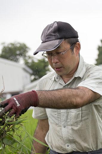 稲刈り後は精米を担当されている高橋靖拡さんには、秋特集でインタビューを実施予定!