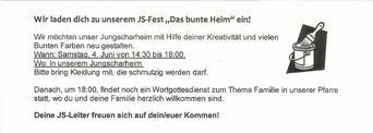 """Einladung zur Aktion """"Buntes Heim"""" (PDF)"""