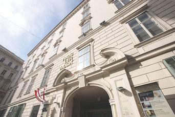 """Das Palais, ursprünglich im Besitz von Erzherzog Karl, diente im 19. Jahrhundert dem Wiener Komponisten Otto Nicolai als Wohnhaus (""""Die lustigen Weiber von Windsor"""")."""