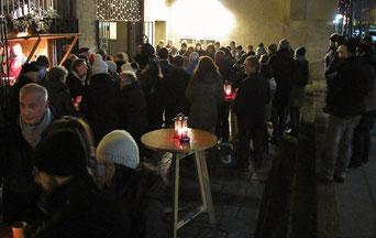 Am zweiten Adventsamstag sangen Veronika Wirth & Freundinnen.