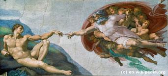 """Die Ausstellung """"Michelangelo's Sixtinische Kapelle in Wien"""" zeigt Rekonstruktionen der Meisterwerke in Originalgröße."""