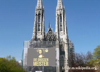 Von September bis Dezember kann man in der Votivkirche Werke der Renaissance in einer neuen Weise erleben.