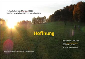 Einladung zur Wallfahrt 2016 (PDF)