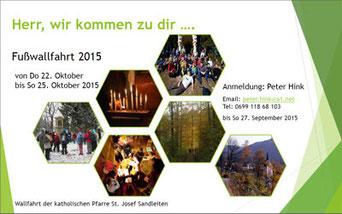 Einladung zur Wallfahrt 2015 (PDF)