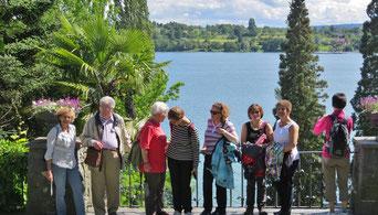 Die Kulturreise 2016 ging an den Bodensee, Foto von der Insel Mainau.