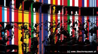 """Eine Ausstellung zeigt """"Die Geschichte Europas - erzählt von seinen Theatern""""."""