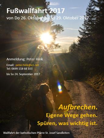 Einladung zur Fußwallfahrt 2016 (PDF)