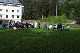 Unsere Unterkunft war das Junbgscharheim in Lichtenberg in Oberösterreich.