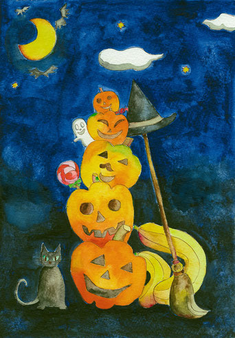 2014年作品「Halloween night」