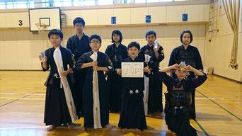 札幌西区発寒少年剣道 剣士たち