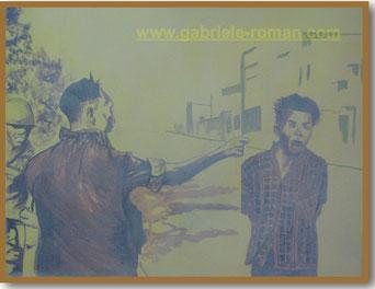 Saigon 1968, 2011, Acryl and oil on canvas, 40x50cm