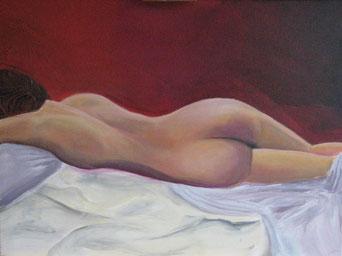 Tabu, 2013, Acrylic painting on canvas, 60 x 80 cm