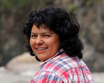 Berta Caceres, Staudamm Agua Zarca, Goldman Prize