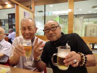 優勝の塚辺さんと 3位の佐藤さん