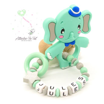 Anneau de dentition, éléphant