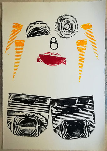 Dietmar, Bous, Kunst, Druck, Radierungen, Oldenburg, Künstler, Holzschnitt, Dietmar