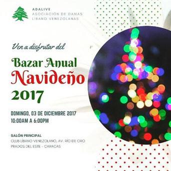 Bazar Navideño ADALIVE 2017