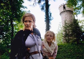 Der Askanierturm am Werelinsee, Rapunzels Gefängnis,