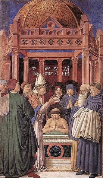 Augustin d'Hippone (354-430) était millénariste avant de devenir évêque d'Hippone, en Afrique du Nord et de renier sa vie faite d'insouciance et de plaisirs. Puis il a combattu le Millénarisme.