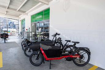 Cargobike Marken im Cargobike Zentrum Dietikon