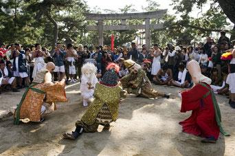 三谷祭 七福神踊り