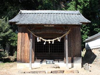 熊野神社・稲荷神社・津嶋神社・天満神社・金山神社