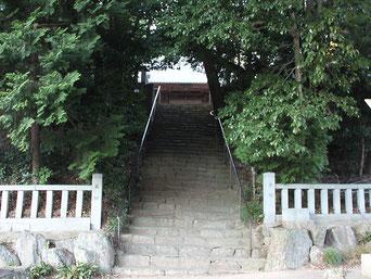 熊野神社 参道