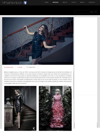 Matteo Caviglioni - 4fashionlook.it - fashion design