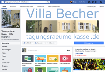 Facebook Villa Becher