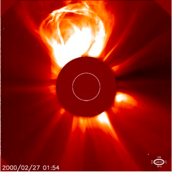coronal mass ejection NASA