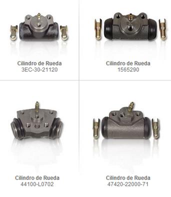 cilindro de rueda frenos partes refacciones accesorios montacargas mexico