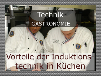 Induktion in Profiküchen