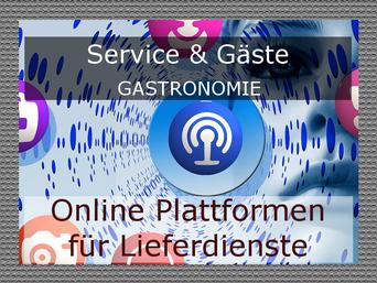 Online Plattformen für Lieferdienste