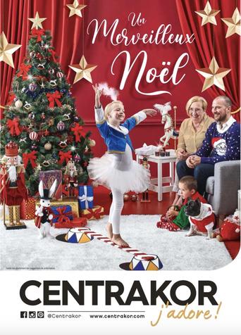 Couverture catalogue Noël Centrakor 2020