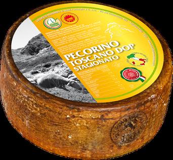 gereifter Schafskäse aus der Toskana G.U. Region, zertifizierter Pecorino
