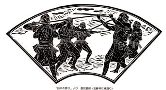 鹿児島県(金峰神社棒踊り)