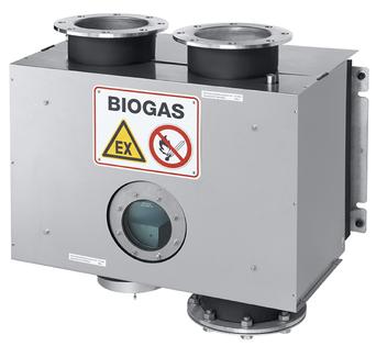 Pressure control valve - digester - biogas plant