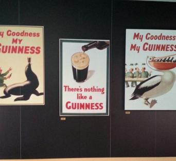 Guinness Reklame Tafeln