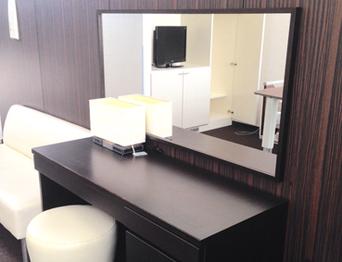 自宅サロンの鏡 ネイルサロン アロマサロン 美容院