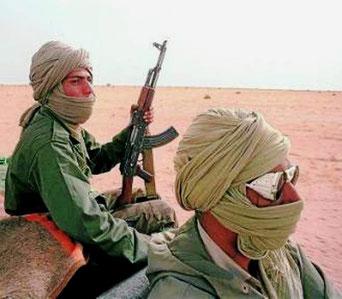 Fightere fra Frente Polisario
