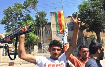 Kurdisk beboermilits i Kobani